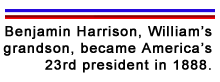 William Henry Harrison Fact 5