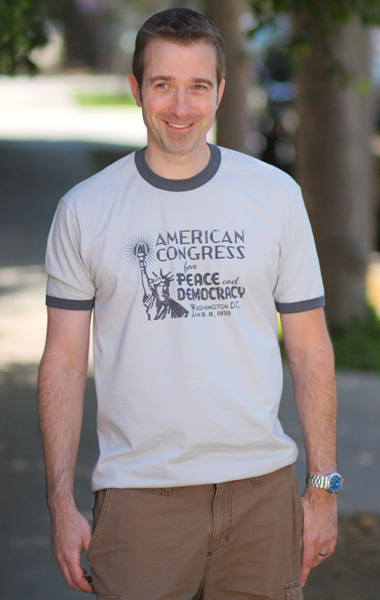 American League for Peace and Democracy T-Shirt - Unisex