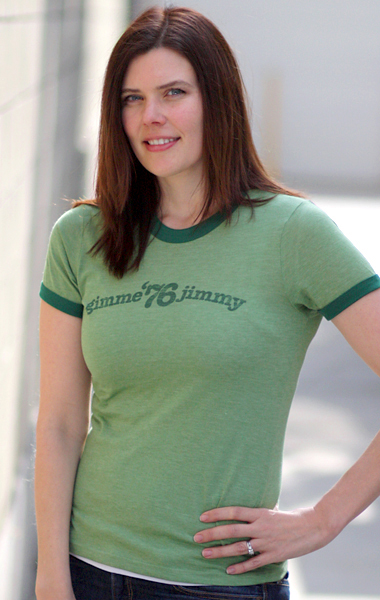 Jimmy Carter 'Gimme Jimmy' 1976 Presidential Campaign T-Shirt - Womens