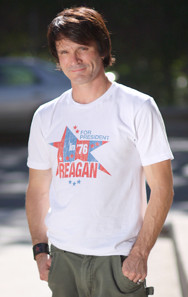 Ronald Reagan 1976 Presidential Campaign T-Shirt (Stars) - Unisex