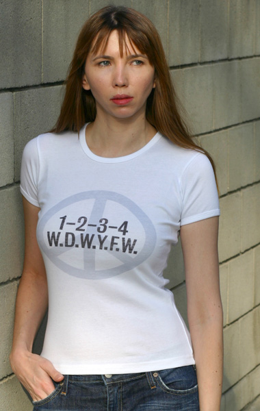 WDWYFW T-Shirt - Womens (Model: Andrea Mekshes)