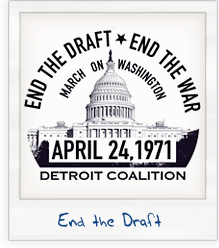 End the War End the Draft T-Shirt